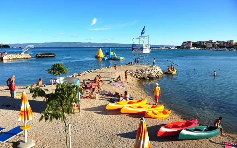 Spiagge Dalmazia Croazia - Campeggio Camping Stobreč Split