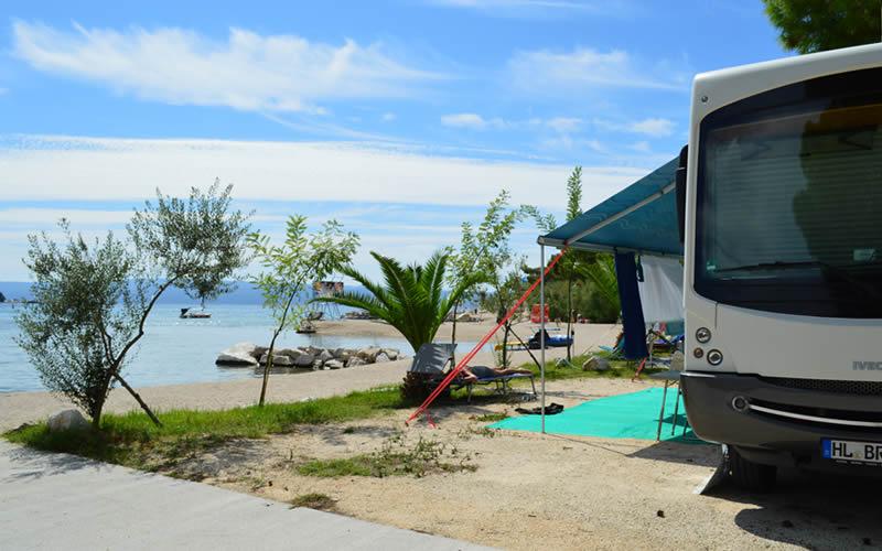 Emplacements de camping en Croatie
